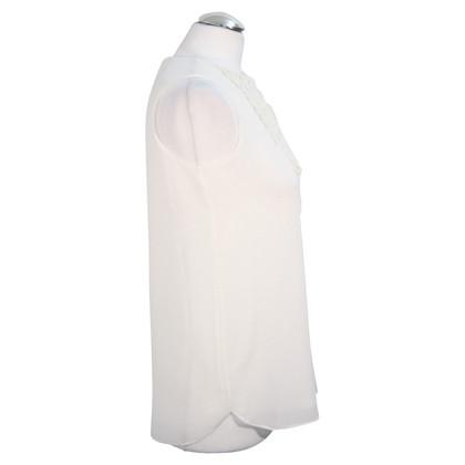 Reiss Top in bianco