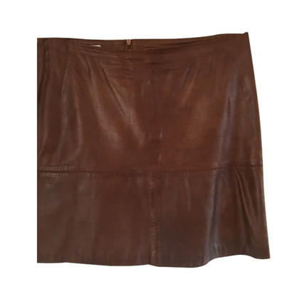 Cinque Leather skirt