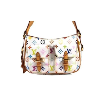 "Louis Vuitton ""White Lodge Monogram Multicolore Canvas"""