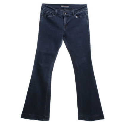 J Brand Flares in Blauw