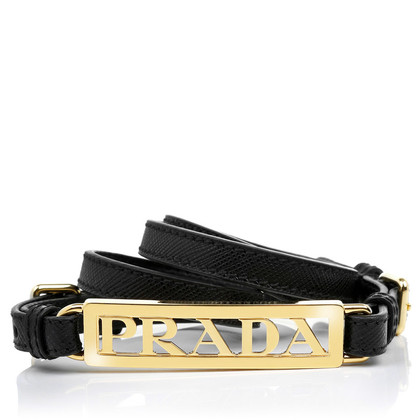 Prada Belt 'Cintura Saffiano Nero'