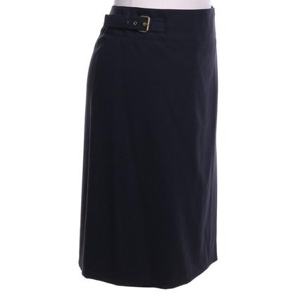 Céline skirt in wrap-look