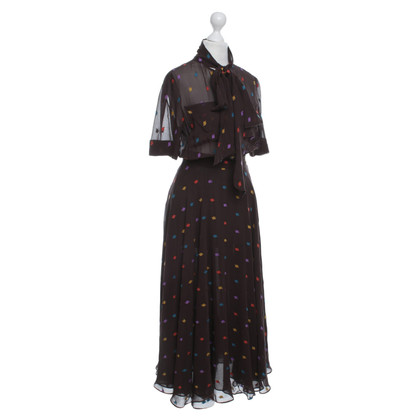 Marc by Marc Jacobs Silk dress in brown