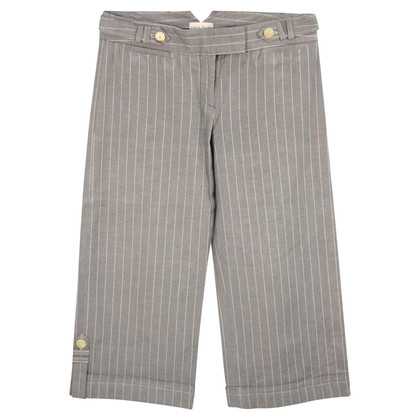 Karen Millen Striped trousers in grey