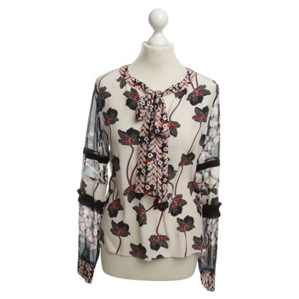 Dorothee Schumacher Seidenbluse mit floralem Muster