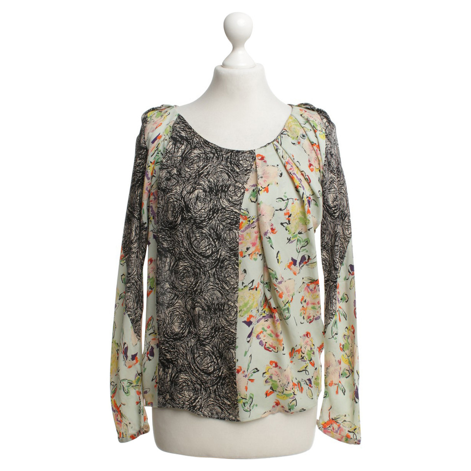 Kenzo silk blouse