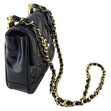 Chanel Patent leather Flap Bag mini