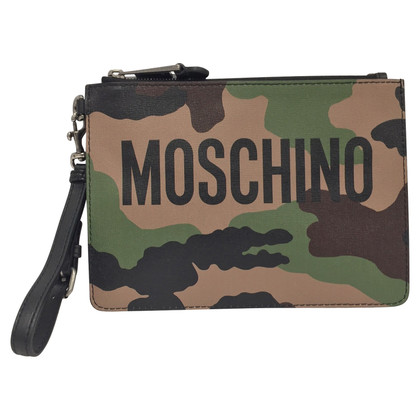 Moschino Clutch mit Muster