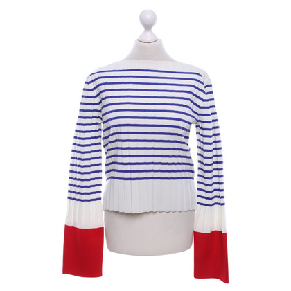 Céline top with stripe pattern