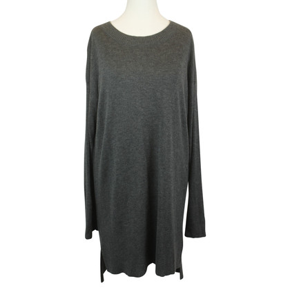 DKNY Strickkleid in Grau