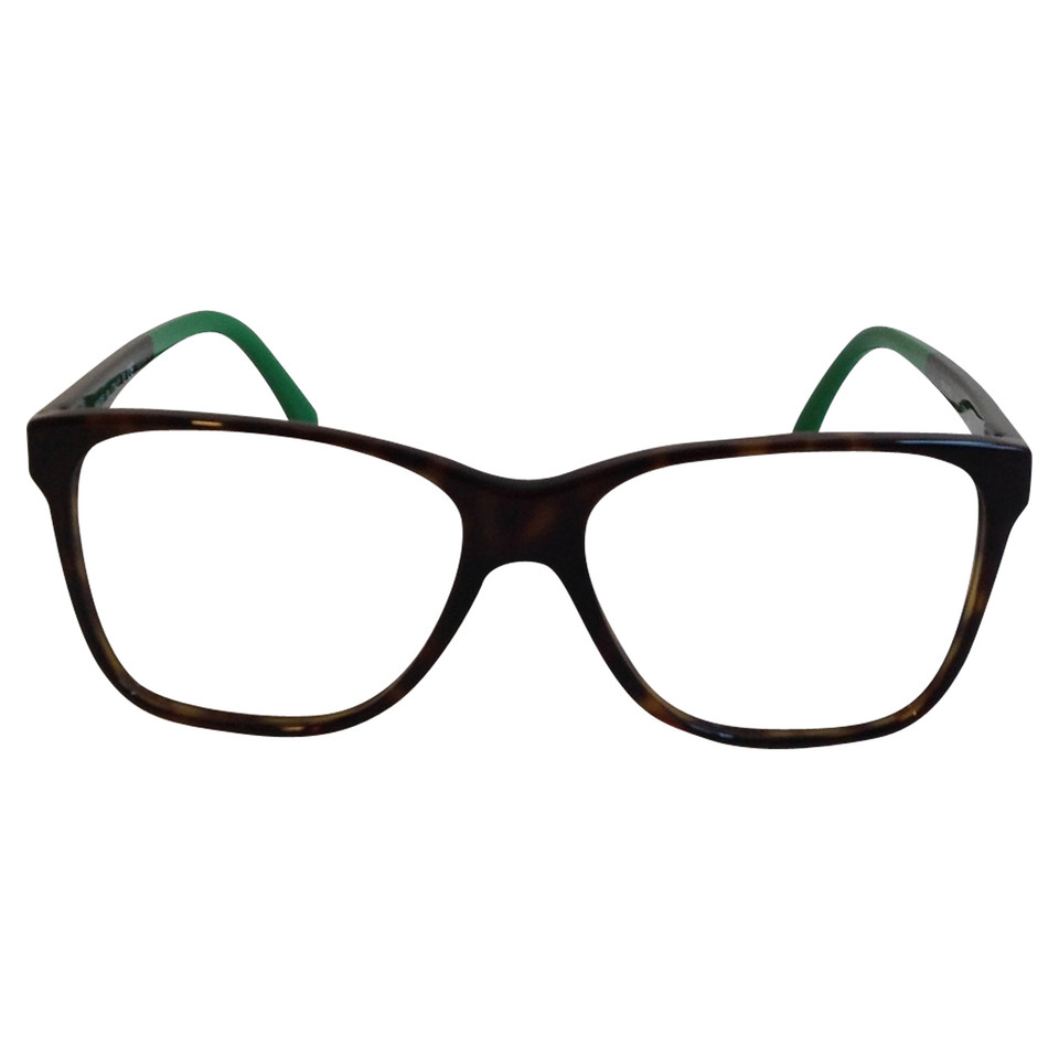 Chanel Green Eyeglass Frames : Chanel Glasses in brown-green - Buy Second hand Chanel ...
