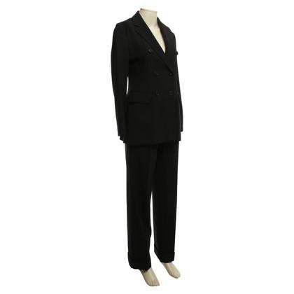 Moschino Cheap and Chic Pantaloni tuta nera