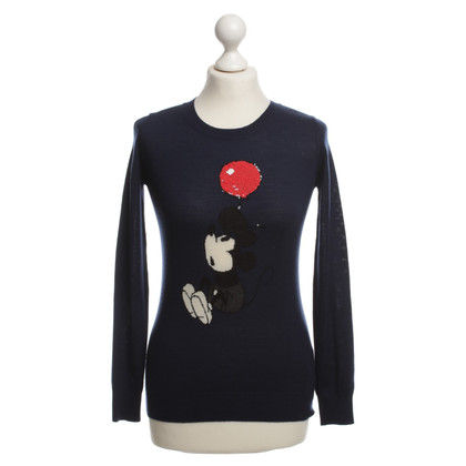 Markus Lupfer Pullover in donkerblauw