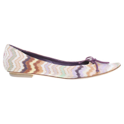Missoni Ballerinas with pattern