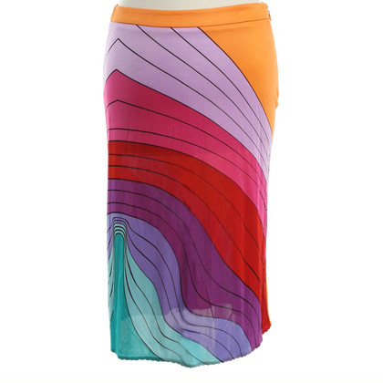 Versus skirt with graphic print
