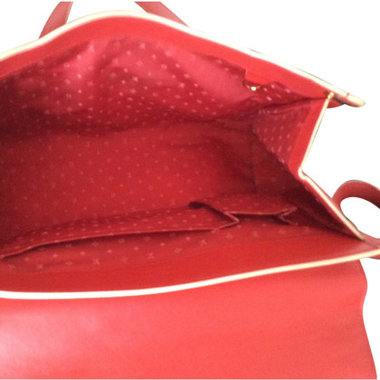"Louis Vuitton ""Suhali L 'Epanoui GM"" in red"