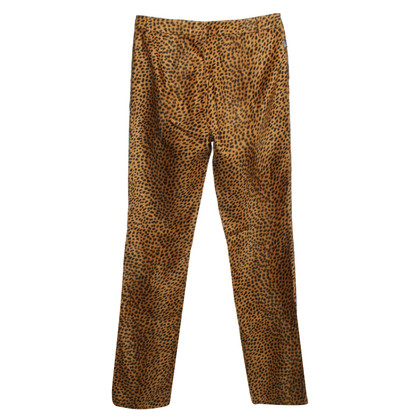 Moschino Pants with Animal Print