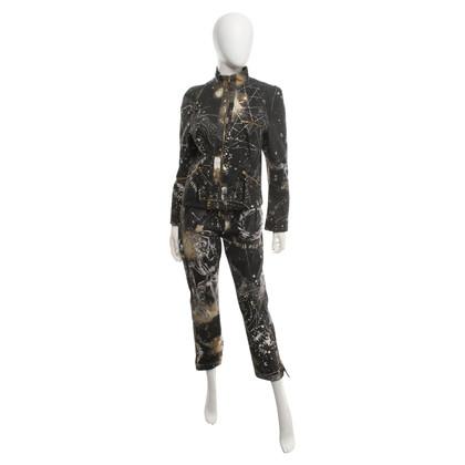 Roberto Cavalli Suit avec des motifs