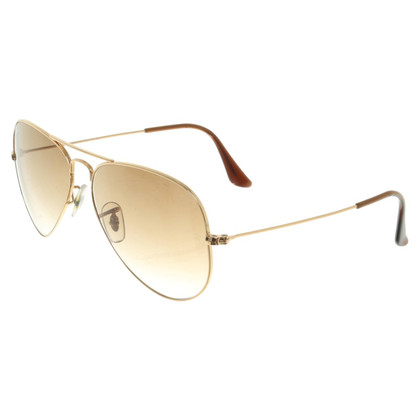 Ray Ban occhiali da sole color oro