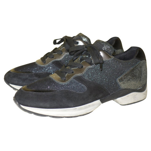 Second Blau Tod's Aus Leder Hand In Sneakers 80PnkNOwX