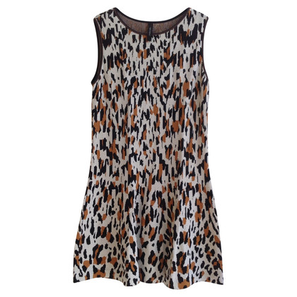 Marc Cain Knitted dress with pattern