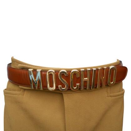 Moschino riem met logo