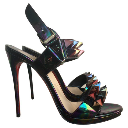 Christian Louboutin Sandals Patent Leather
