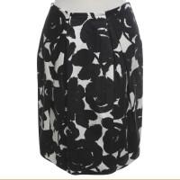 Strenesse Blue skirt in black / cream