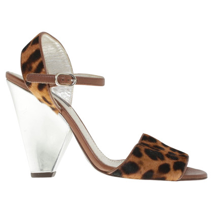 Dolce & Gabbana Sandals in Felloptik