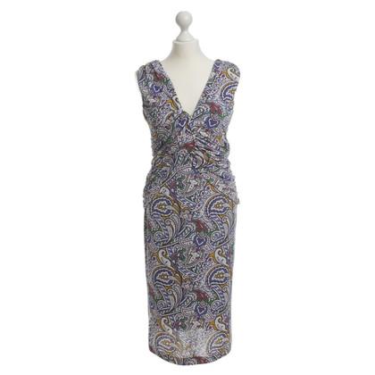 Etro Grafische print jurk