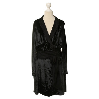 Nina Ricci Black velvet dress