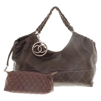Chanel sac à bandoulière en daim
