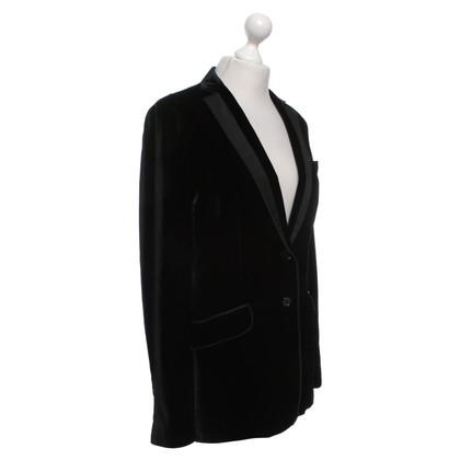 Dolce & Gabbana Velvet giacca in nero