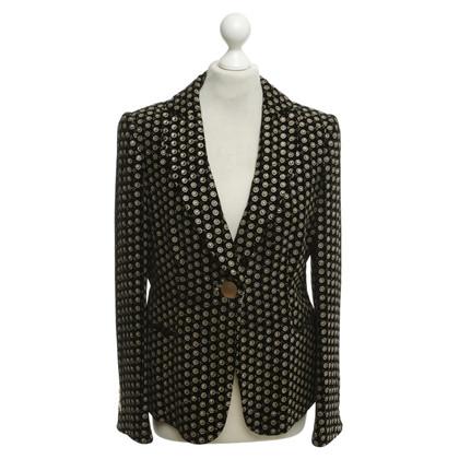 Armani Velvet blazer with pattern