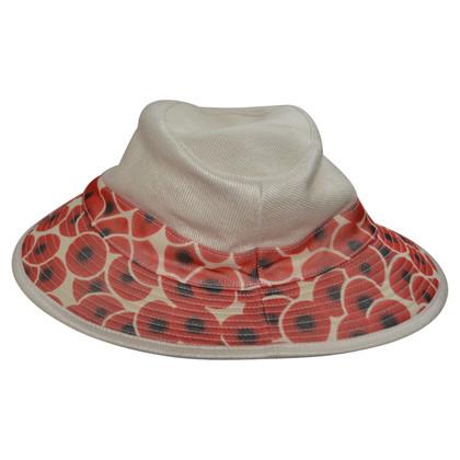 Hermès Hut aus Leinen/Baumwolle