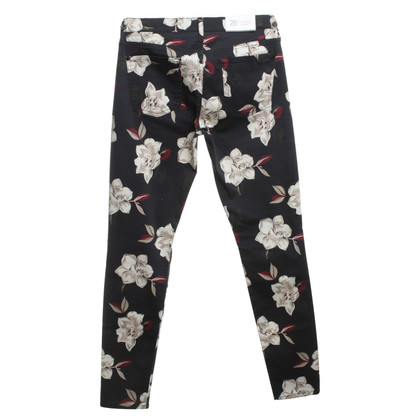 7 For All Mankind Jeans im Blumenmuster