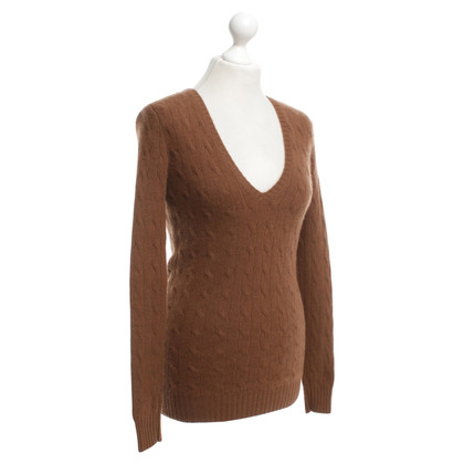 Ralph Lauren Cashmere sweater in brown