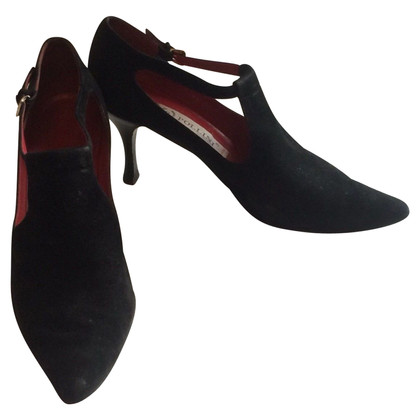 Pollini pumps suede