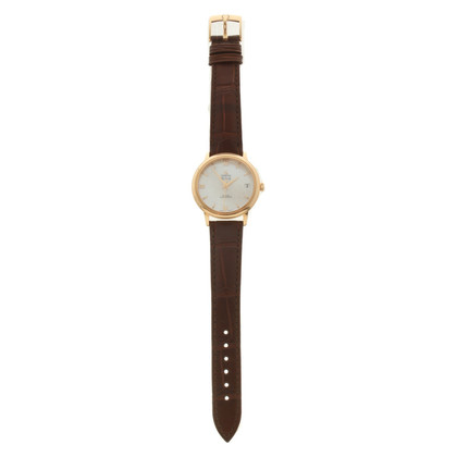 Omega Wristwatch with leather
