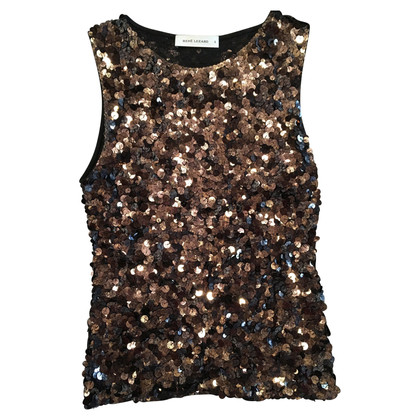 René Lezard paillettes Top