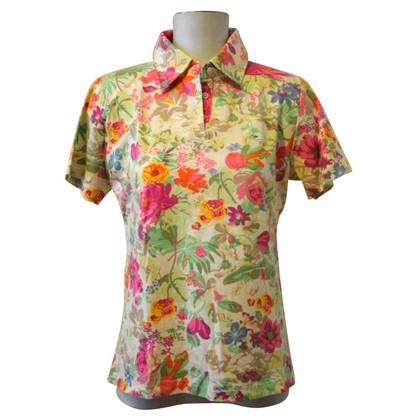 Etro colorful polo shirt