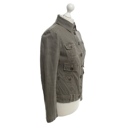 Moschino Military jacket in green