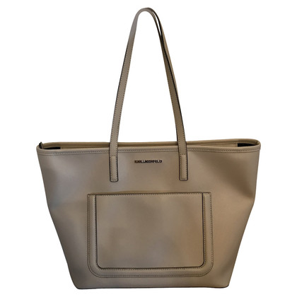 Karl Lagerfeld Shopper in Beige