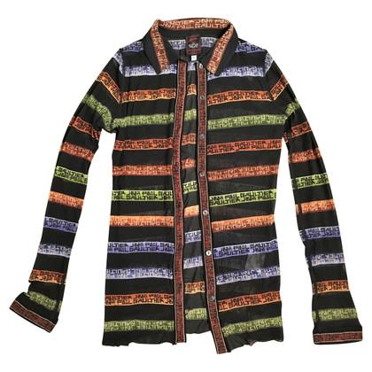 Jean Paul Gaultier Transparent shirt blouse