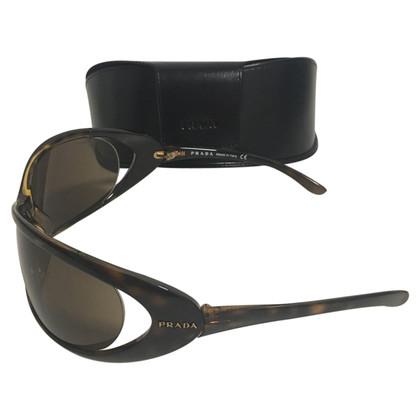 Prada Grote prada zonnebrillen