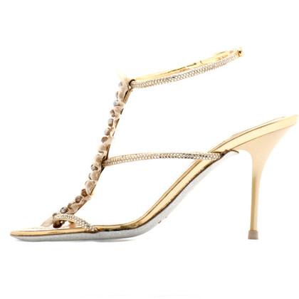 René Caovilla Rhinestone sandal