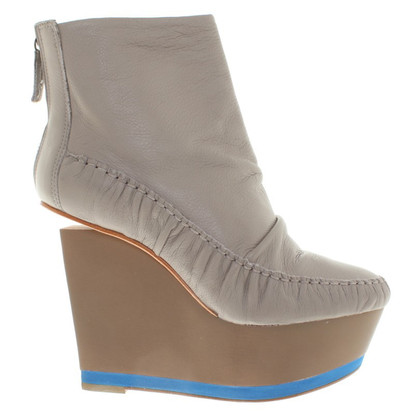 Finsk Wedges in grey