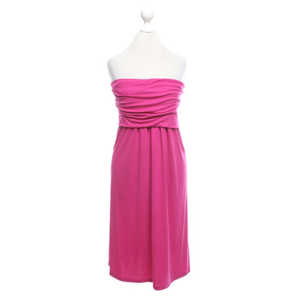 Halston Heritage Dress in fuchsia