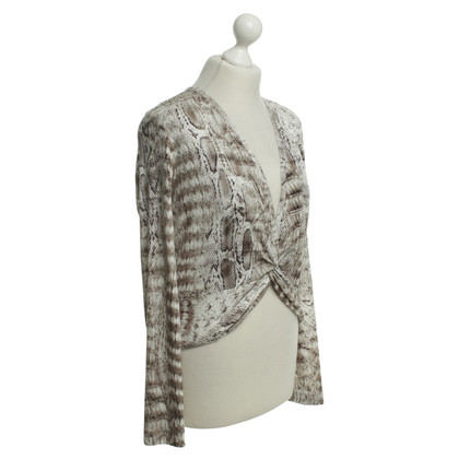 Marc Cain top with Animal-Print