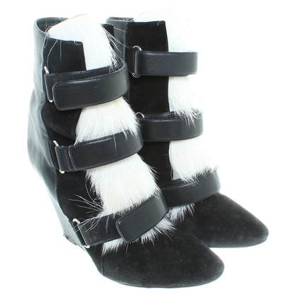 Isabel Marant Ankle boots with fur